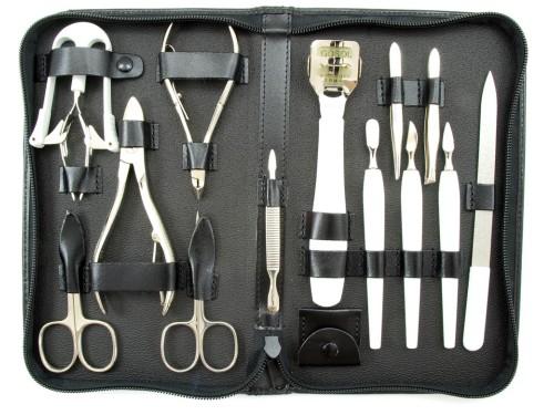 Zestaw manicure + pedicure 14 elementowy