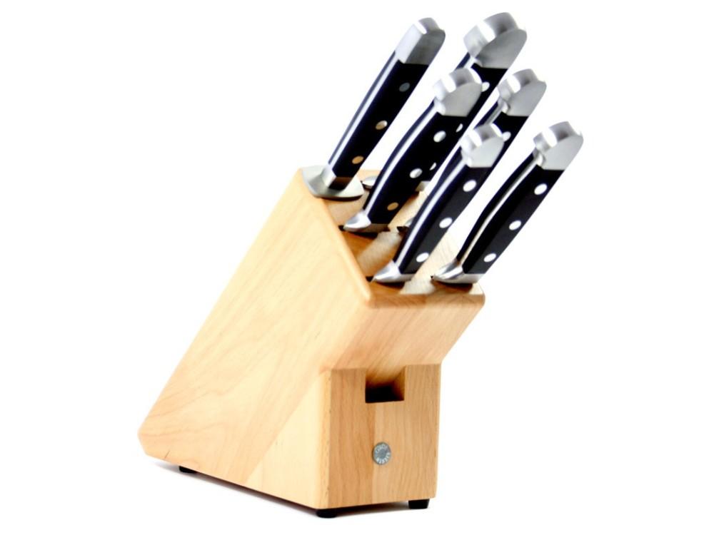 Güde Blok noży Alpha, 7 częściowy