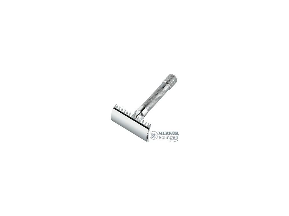Maszynka do golenia Merkur 15C grzebień otwarty