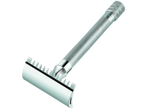 Maszynka do golenia Merkur 25C grzebień otwarty