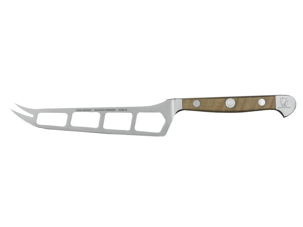 Güde Alpha gruszowa kuty nóż do sera, 15 cm