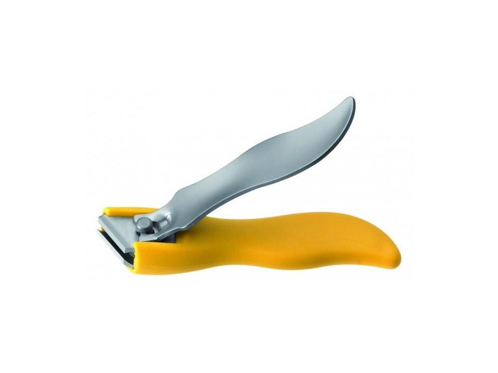 Obcinacz do paznokci 8 cm żółty