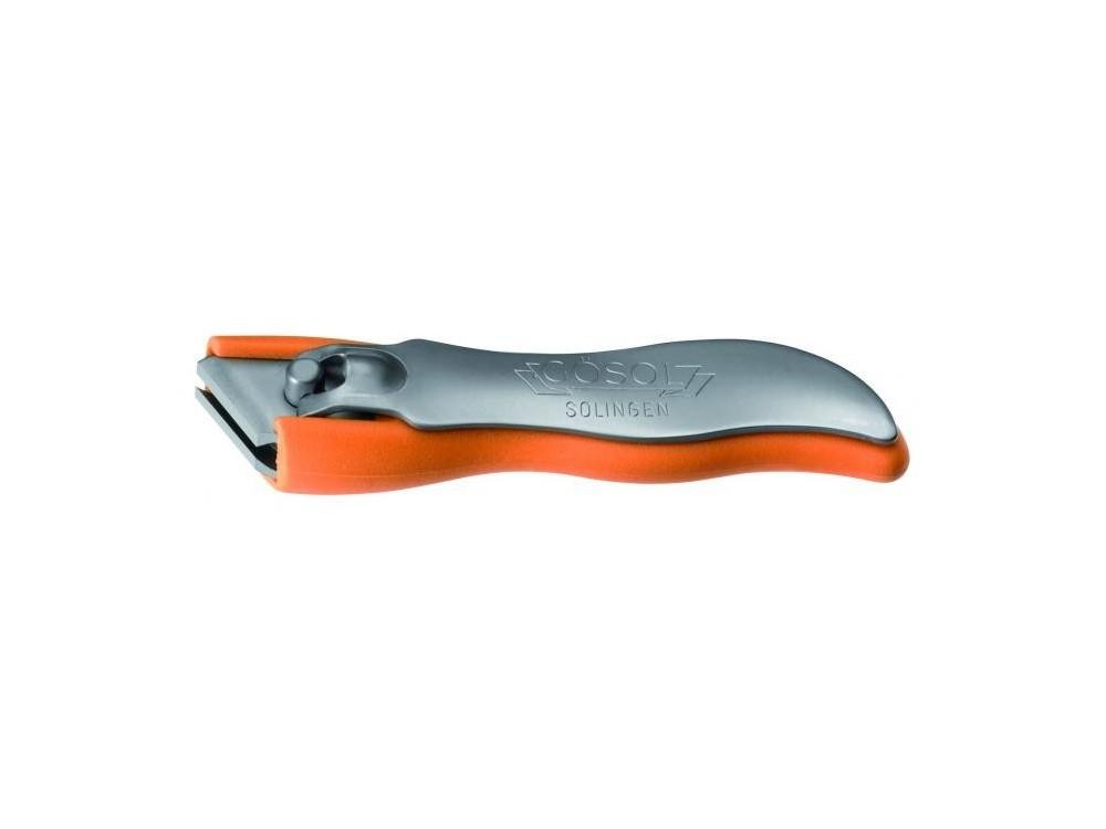 Obcinacz do paznokci 8 cm pomarańczowy