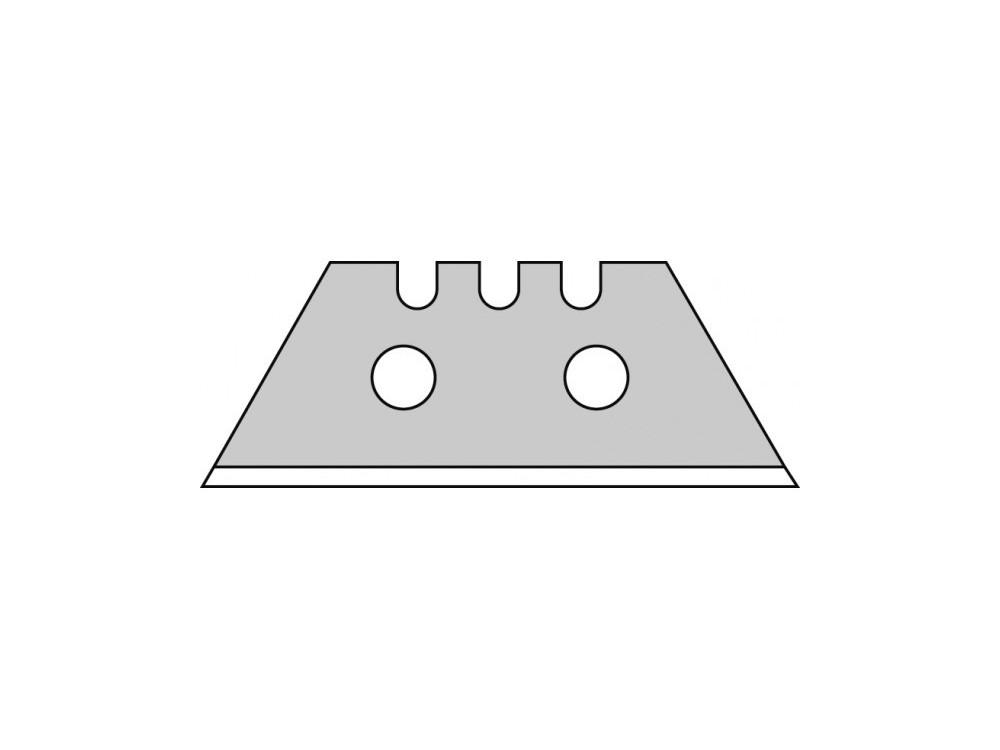 Ostrze trapezowe 0,64 mm dwuotworowe 10 szt