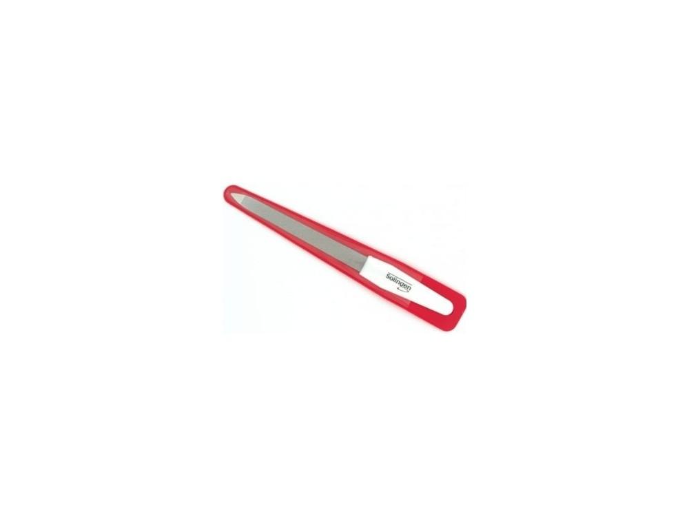 Pilnik do paznokci z uchwytem plastikowym, długość 15 cm