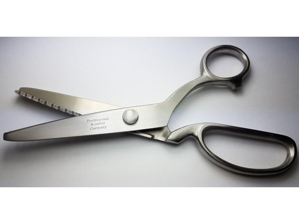 Nożyce krawieckie ząbkowane 8