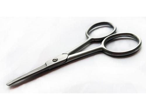 Nożyczki kosmetyczne do pielęgnacji wąsów i brody