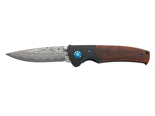 PUMA TEC Nóż jednoręczny Damast G10