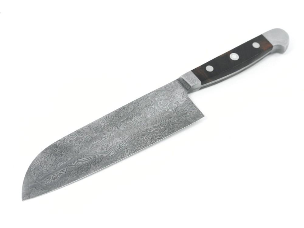 Güde damasceński nóż Santoku 18 cm