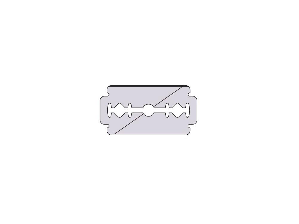 Ostrze kuśnierskie 100 szt diagonalne 0,13