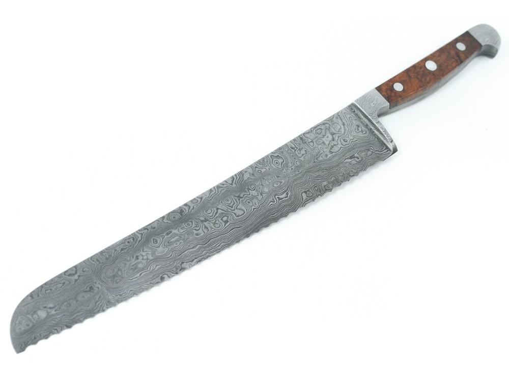 Güde damasceński nóż do chleba 32 cm